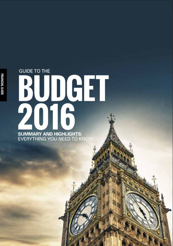 Guide to Budget 2016
