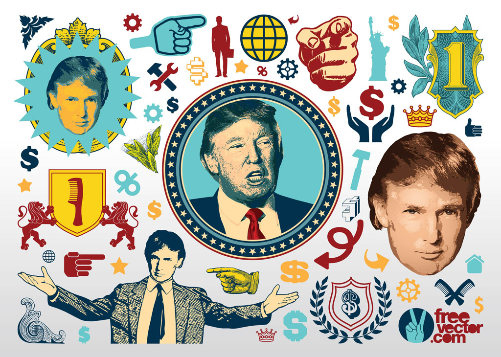 FreeVector Donald Trump Graphics